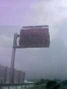 事故で通行止めって表示が出てるはずなのですが。。見えないや(;_;)