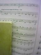 第九の4楽章の楽譜です
