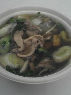 柳都鴨鍋です。鴨肉サイコー!