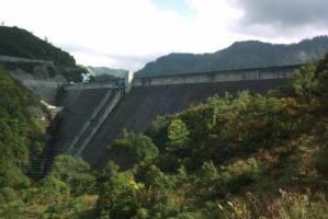 奥只見ダムの風景