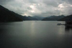 奥只見湖の風景