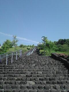 階段が延々と続きます