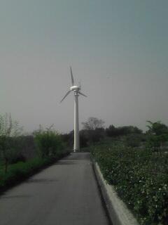 風力発電もあります