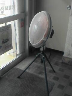虫よけ扇風機