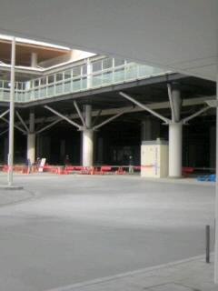 新潟駅南口の新バスプールもうすぐ完成